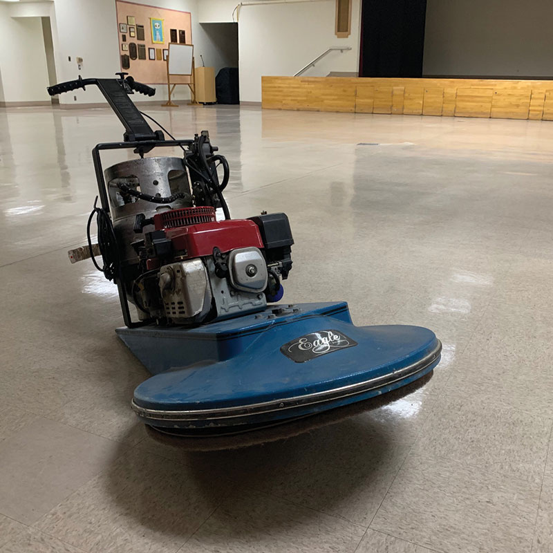 Strip Wax Floors Andrade Cleaning Services